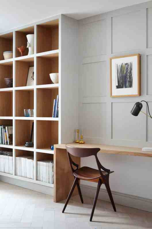 Small Home Office Ideas That Will Make You Want to Work Overtime, modern home office ideas #modernhomeoffice #builtinworkspace #smallhomeofficeinspiration #minimalhomeoffice