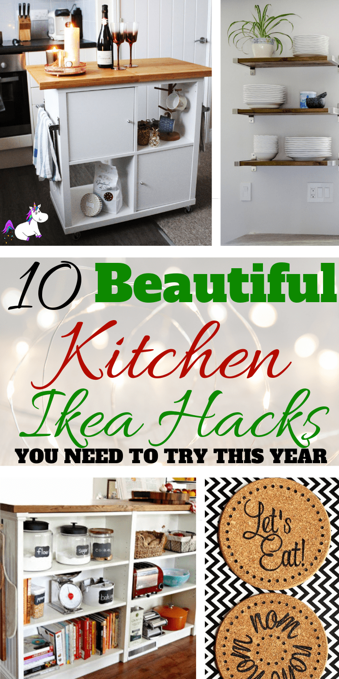 10 Kitchen Ikea Hacks You Must See via: https://themummyfront.com #ikea #ikeahacks #ikeaides #farmhouse #farmhousestyledecor #farmhousedecor # kitchenikeahacks #kitchendiy #homedecor #budgethomedecor #cheap #roomidea #themummyfront #homedecordiy #diy