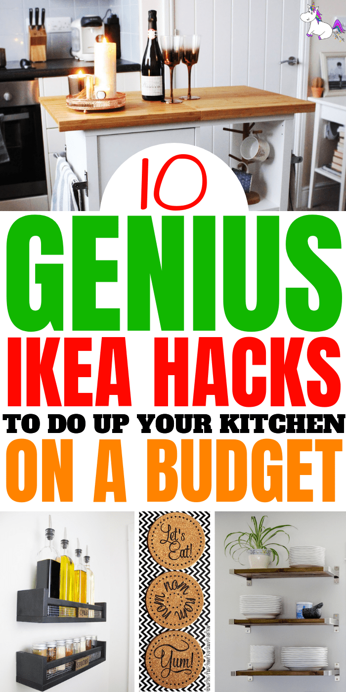 10 Genius Ikea Hacks To Do Up Your Kitchen On A Budget, Diy home decor, home decor on budget, ikea hack, home decor #diyhomedecor #homedecoronabudget #ikeahacks #ikeahack #ikea