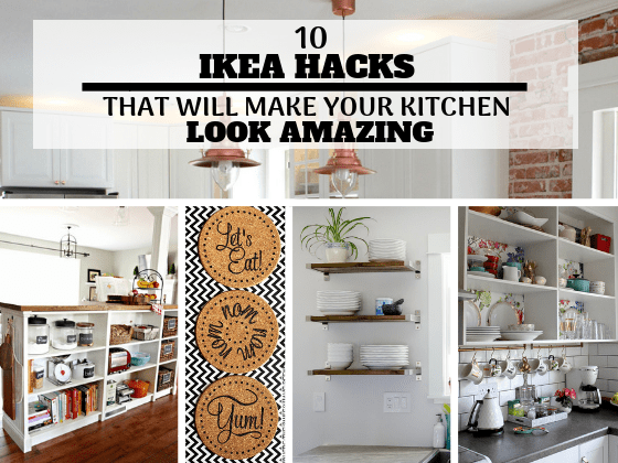 10 IKEA Kitchen Hacks That Will Make Your Kitchen Look Amazing On A Tiny Budget... The best DIY Home Decor Ideas