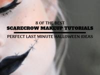 Scarecrow Makeup ~ Last Minute Halloween Ideas That Look Great!