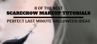 Scarecrow Makeup ~ Last Minute Halloween Ideas That Look Great!