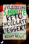 The Best Keto Chocolate Mousse – In Under 5 Minutes!