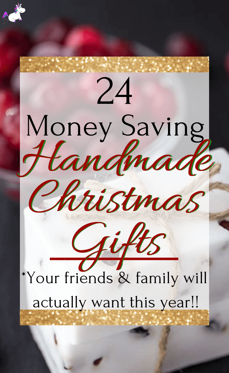 24 DIY Christmas Gifts That Your Friends & Family Will Actually Want To Get This Year!! This list of simple handmade gifts has something for everyone so you can keep to yout budget this Christmas & still make everyone happy with a meaningful gift you've made yourself | Via: https://themummyfront.com #diychristmasgifts #handmadegiftideas #homemadechristamsgifts #easydiygift #christmascrafts #themummyfront #diychristmas #lastminutechristmasgifts