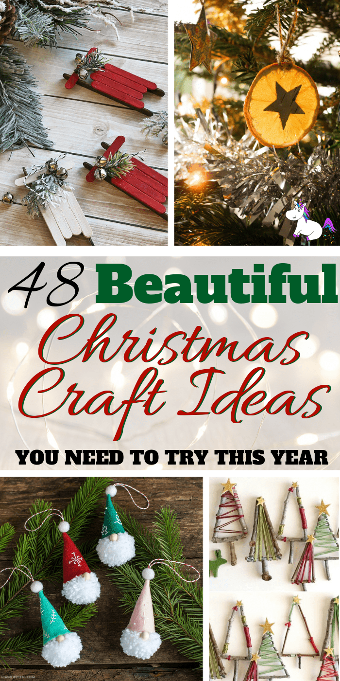 48+ Stunning Handmade Christmas Craft Ideas You need To Try This Year | DIY Christmas Decorations | Festive decoration ideas | Noel | Via: https://themummyfront.com | | handmade christmas crafts #christmasdecorations #festiveideas #handmadechristmascrafts #christmascrafts #festivecrafts #themummyfront.com #christmastree #christmascraftsforkids #giftwrappingideas #christmasgifts