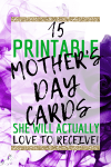 15 Printable Mother's Day Cards She'll Actually Love!