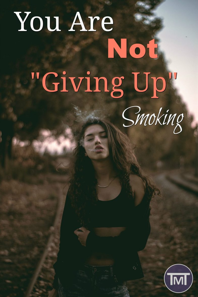"Find out why ""giving up smoking"" isn't going to work, and what you need to do to ditch the addiction of a lifetime and no it's not full of statics."