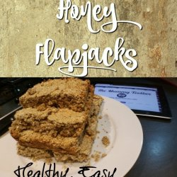 Banana & Honey Flapjacks - Healthy, tasty and ready in 30 minutes