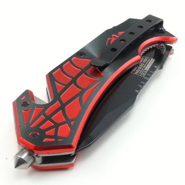 spider-man pocket knife - geeky gift guide