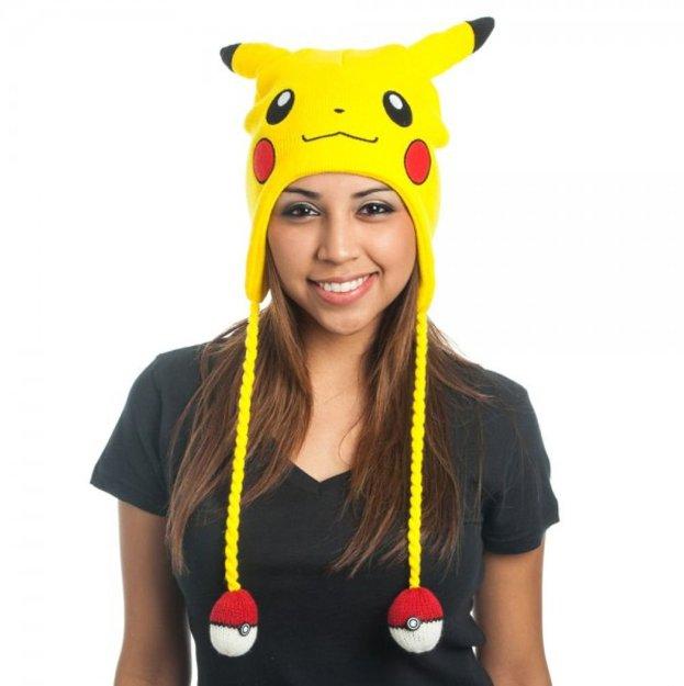 Pikachu beanie hat geeky gift guide