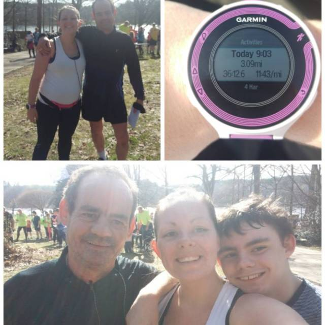 Not bad for 6 months pregnant! First parkrun in ageshellip