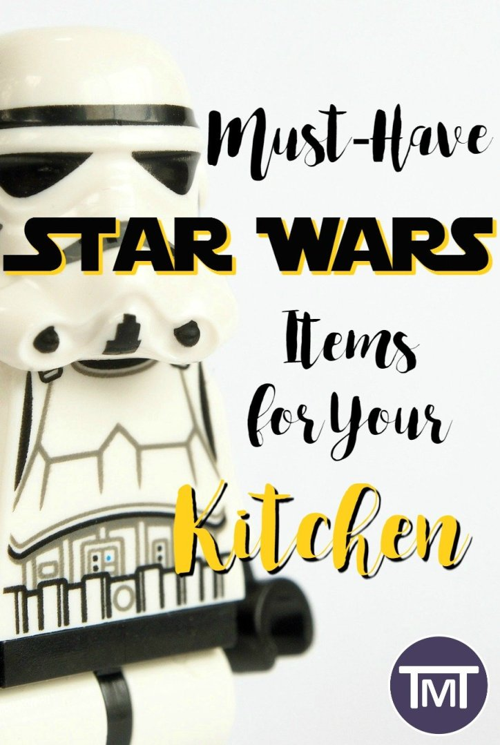 Spruce up and geek up your home with these Star Wars kitchen items from lightsaber spatulas and chopsticks to Darth Vader Toasters and R2-D2 pizza cutters.