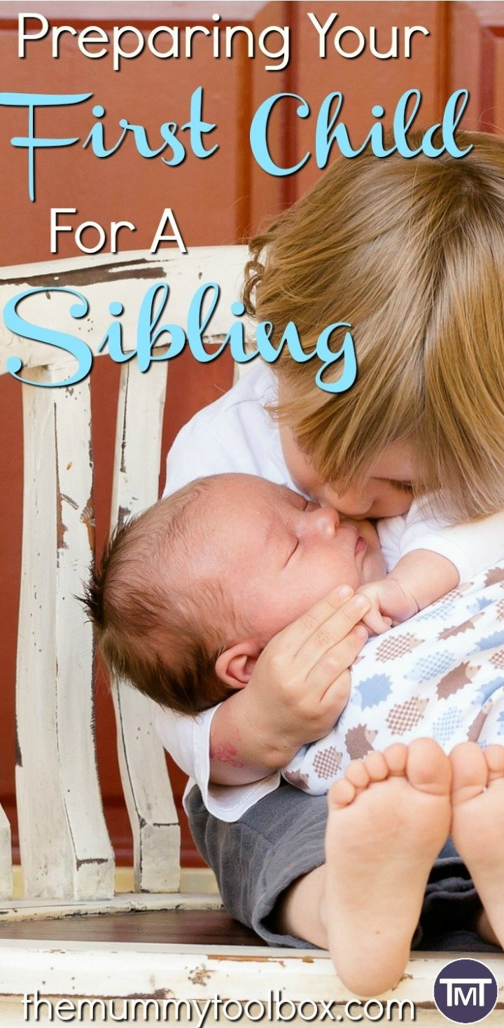 It's hard to transition from one child to two for everyone, including your first kid! Here are some ways we are preparing our first for a sibling.