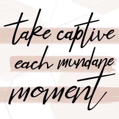 take captive Christian quote printable