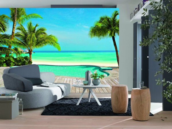photo wall murals Pool Wall Mural DM127 |Full Size Large Wall Murals |The