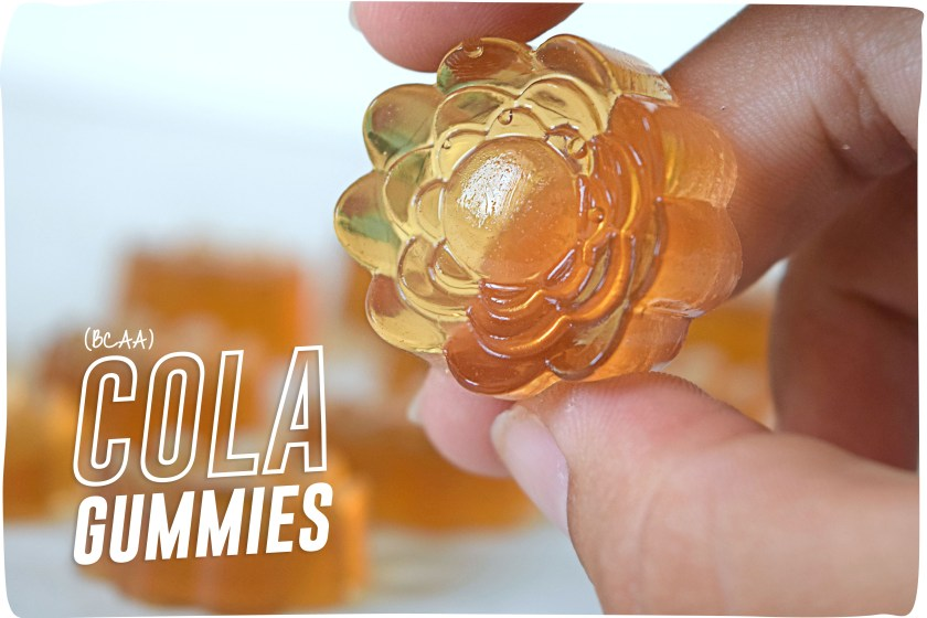 BCAA Cola Gummies