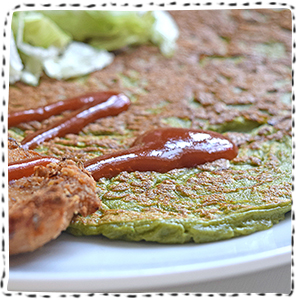 spinach-crepe