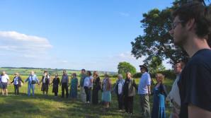 Summer Solstice Ceremony at The Rollright Stones, Cotswolds. ©Emma Tuzzio