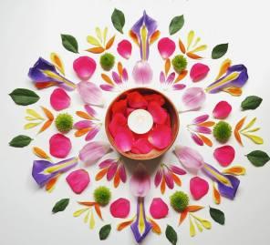 Spring Flower Mandala ©Emma Tuzzio