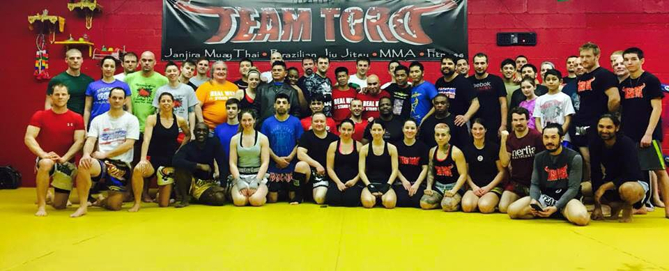 Saekson Janjira Seminar at Team Toro Feb 2015