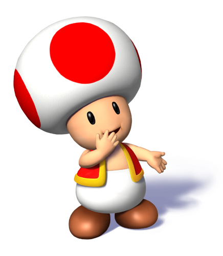 This is Toad. Toad belongs to Nintendo.