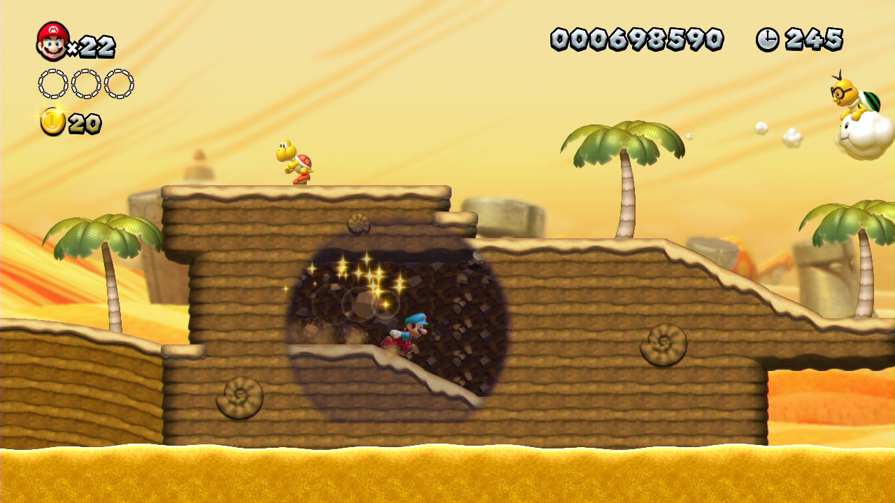 Ghost Super 3d Wii Star World Mario House World U