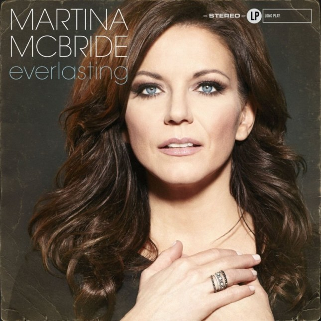 Martina McBride, Everlastin © Vinyl Recordings