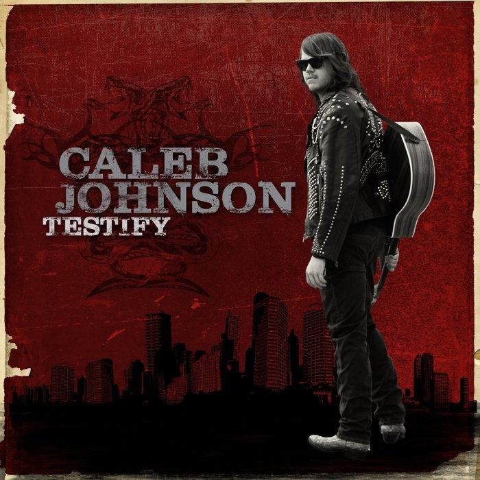 Caleb Johnson, Testify © Interscope