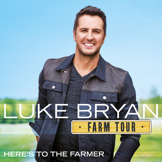 Luke Bryan Delivers More of the Same on 'Here's to the Farmer'
