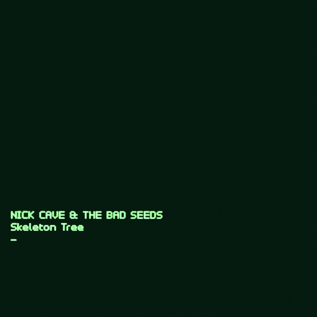 Track Review: Nick Cave & The Bad Seeds, 'Jesus Alone'