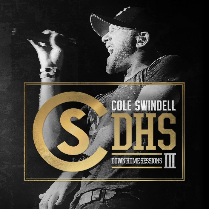 Cole Swindell, Down Home Sessions III © Warner Nashville