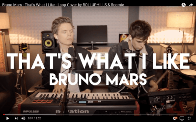 RollUpHills & Roomie Bruno Mars - That's What I Like