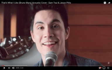TheSamTsui & Jason Pitts  That's What I Like (Bruno Mars) Acoustic Cover