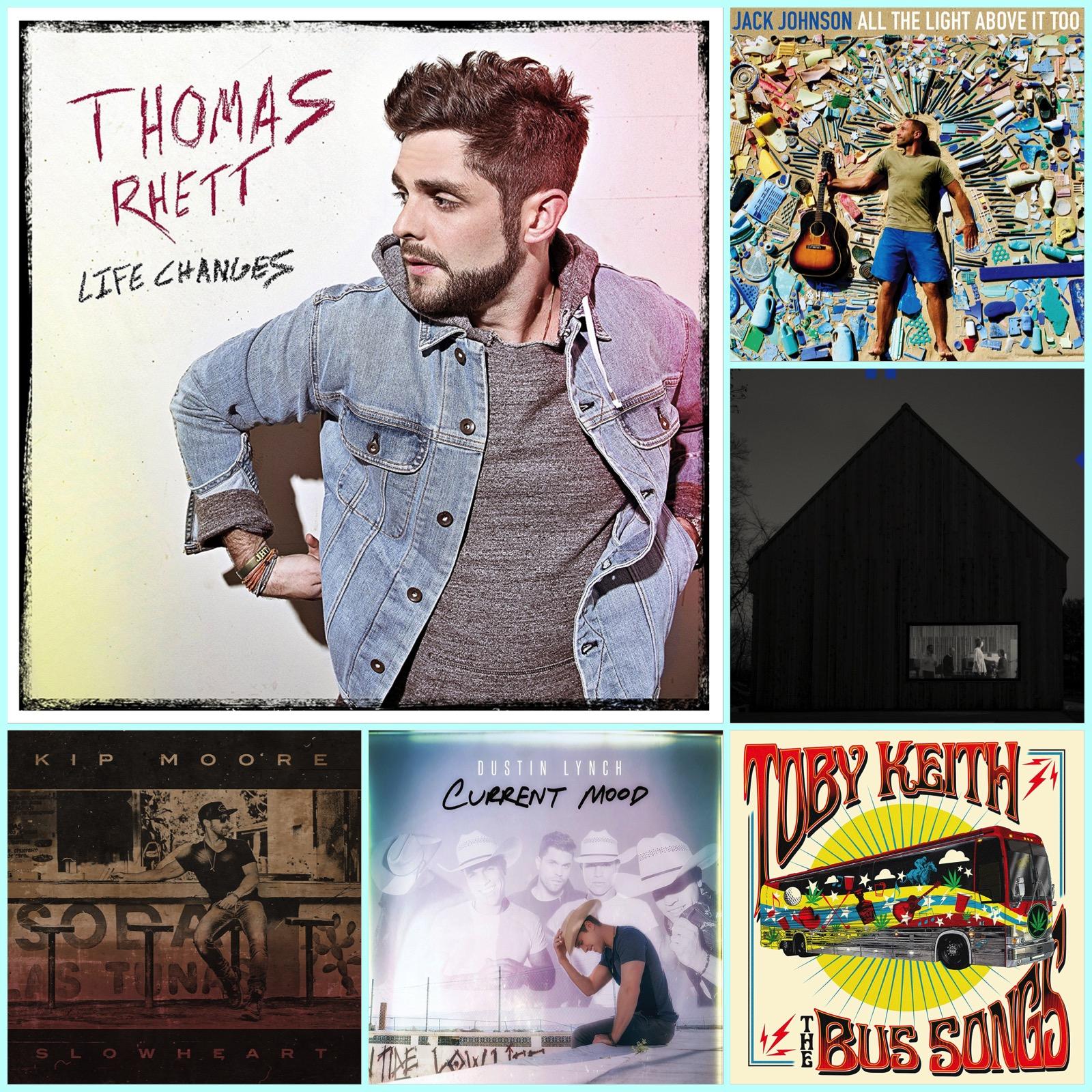 Music Shopping List | Thomas Rhett Returns With 'Life Changes'