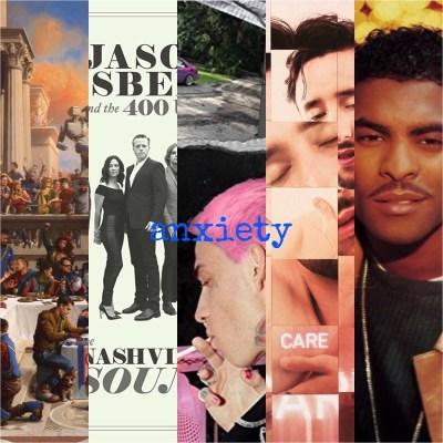 Anxiety Playlist © Def Jam, Southeastern, Interscope, Domino, Atlantic