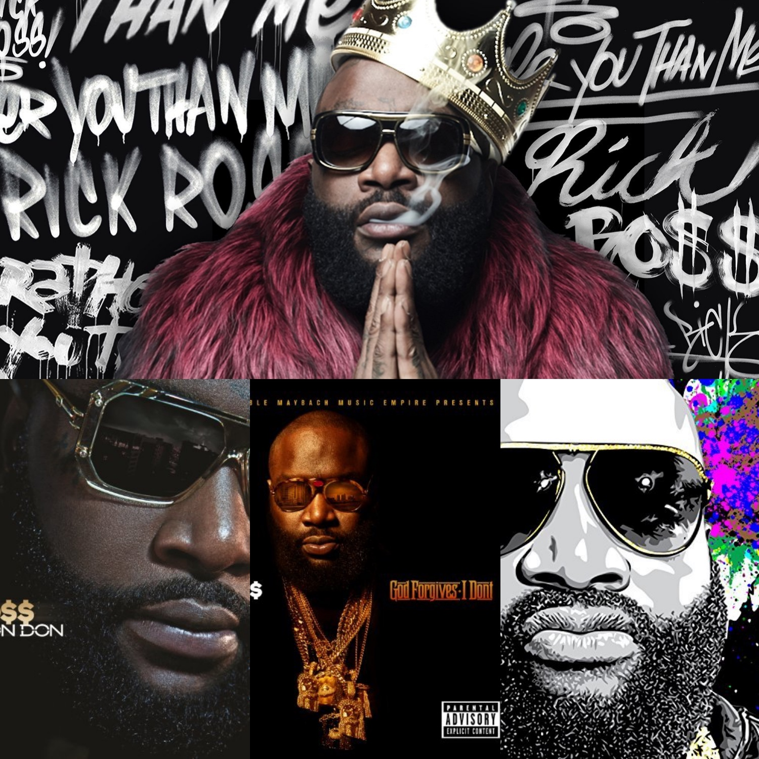 The Top-2 Songs from Each Rick Ross Album | Playlist - The
