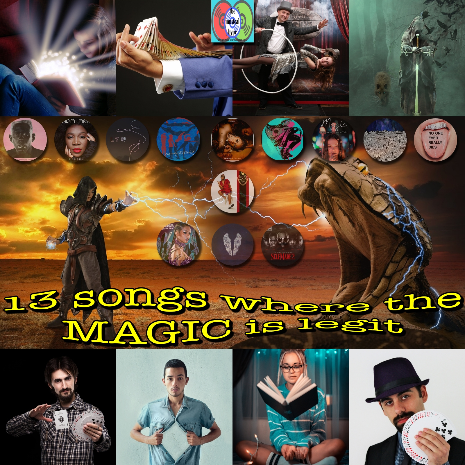 13 Songs Where the Magic is Legit | Playlist