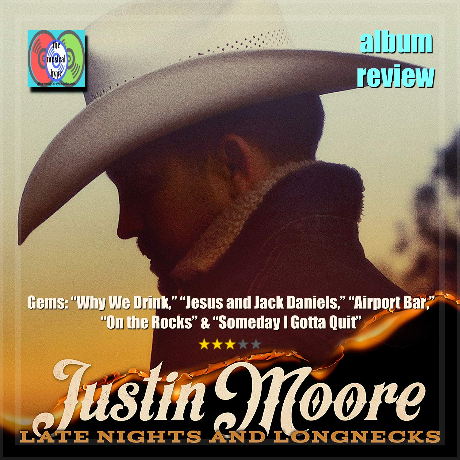 Justin Moore, Late Nights and Longnecks | Album Review