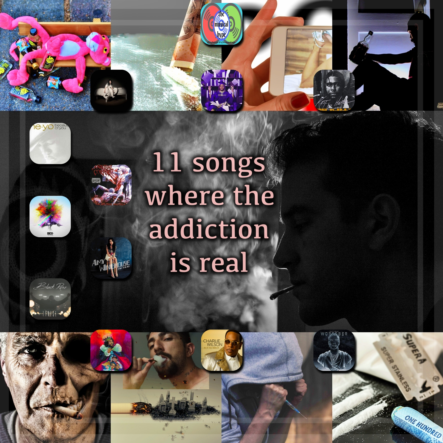 11 Songs Where the Addiction is Real | Playlist