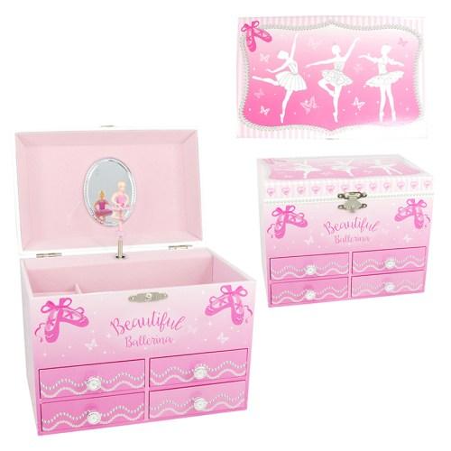 Beautiful Ballerina Jewelry Box