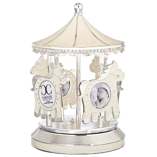 Musical Carousel Photo Holder