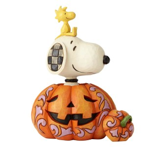 Snoopy and Woodstock in Pumpkin