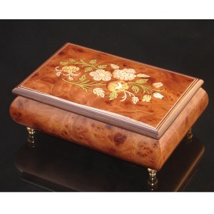 Italian Jewelry Box Elm 04CF