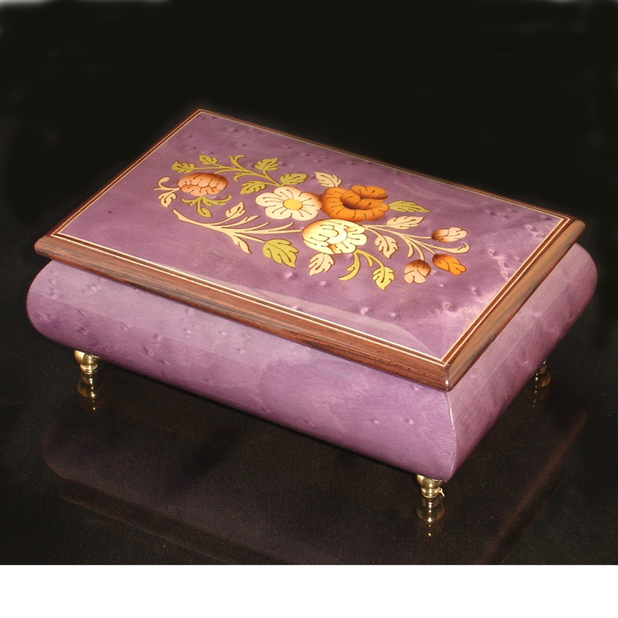 Italian Jewelry Box Plum 04CF