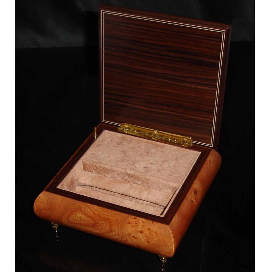 Italian Jewelry Box 450 Elm opened