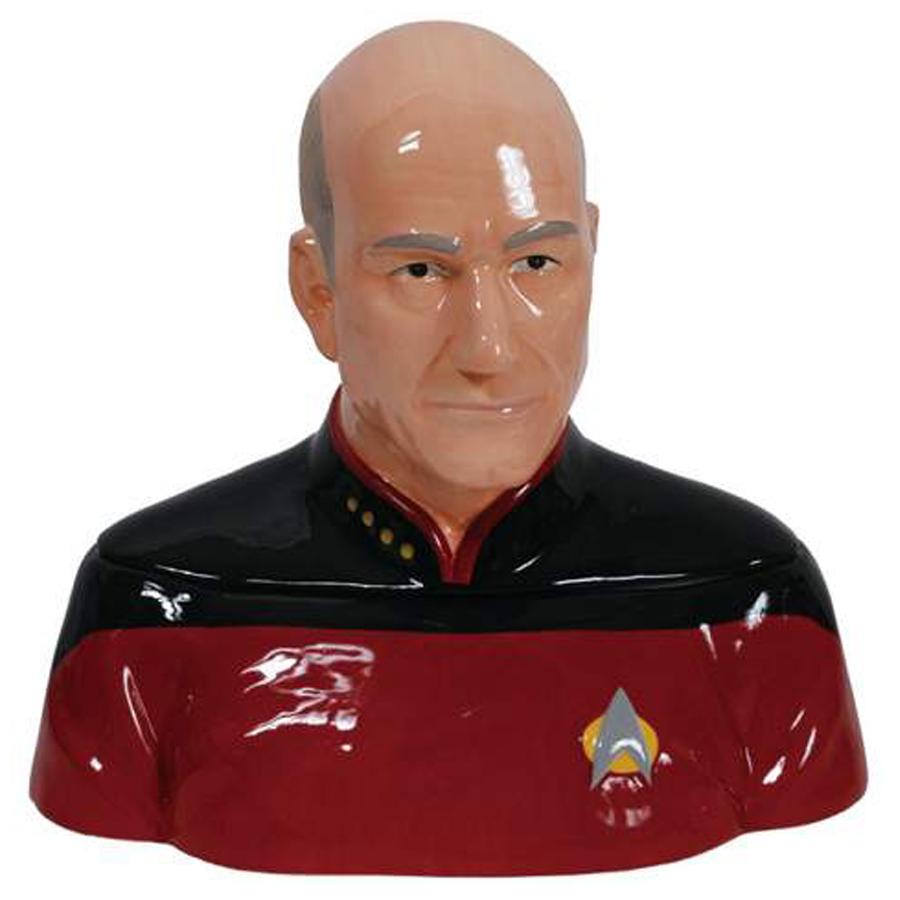 Captain Picard Cookie Jar from Star Trek