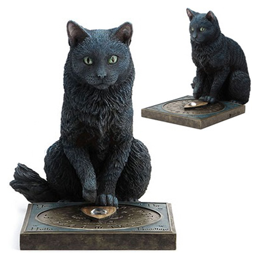 His Masters Voice Black Cat with Ouija Board dual image