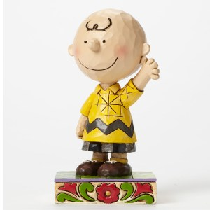 Good Man Charlie Brown personality pose by Jim Shore 4044676