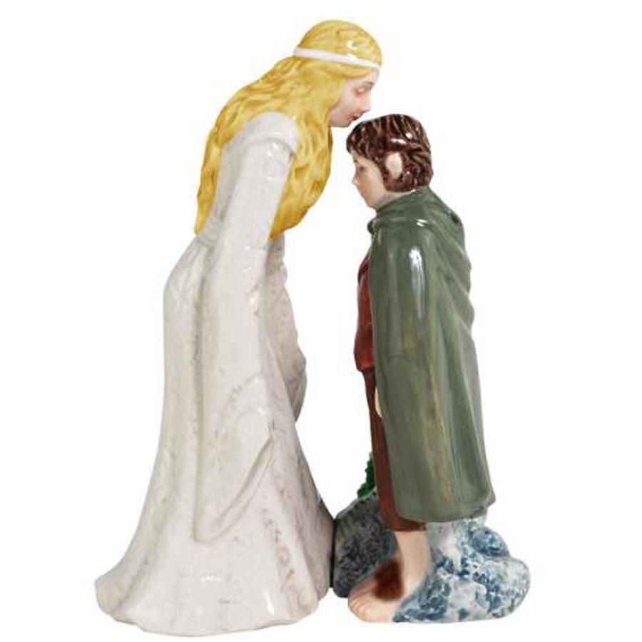 Galadriel-and-Frodo-Salt-and-Pepper- Shakers from Lord of the Rings