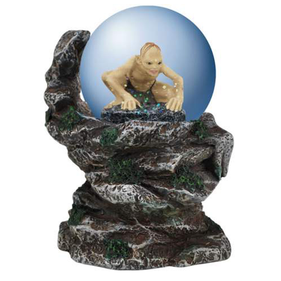 Gollum Cliffside Medium Globe from Lord of the Rings